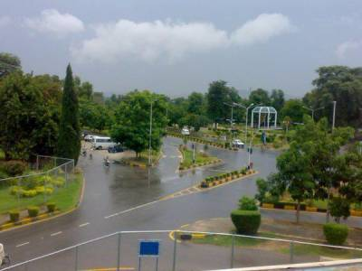 Parts of country receive intermittent rain