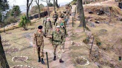 US, UK, France, China, Turkey & Indonesia defence attaches visit LoC
