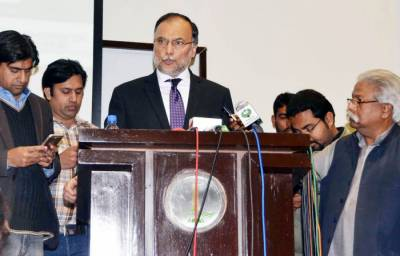 Ahsan Iqbal says fight against terror in our own interest