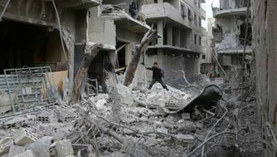 Deadly air strikes hit Syria rebel enclave