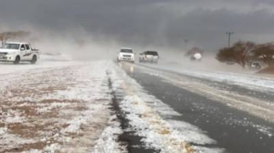 Heavy thunderstorm, hailstorm plays havoc in Saudi Arabia