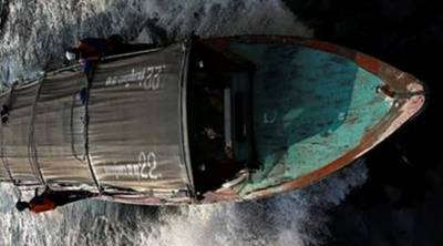 Indian BSF seize Pakistani boat off coast Gujarat