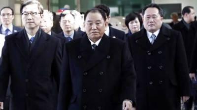 North Korean delegation arrives in South Korea