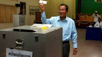 Voting for Senate elections in Cambodia underway