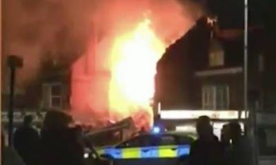Explosion in UK: Britain Police