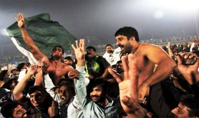 Iranian Kabaddi team in Lahore to participate in National Kabaddi Championship