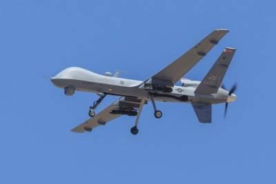 US drone strike in east Afghanistan
