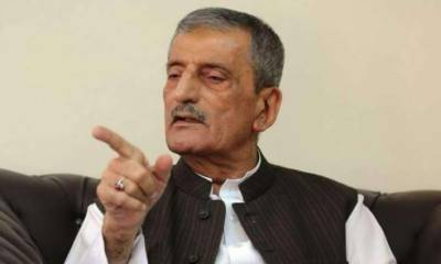 Bilour accuses PTI of generating commission by starting Metro Project