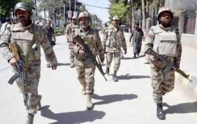 FC Balochistan seize huge weapons cache