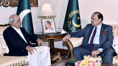Governor Punjab calls on President Mamnoon Hussain in Lahore