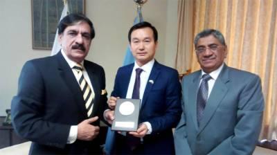 Pakistan China top diplomats discuss regional security