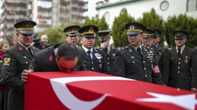 41 Turkish Army soldiers killed in Syria operation