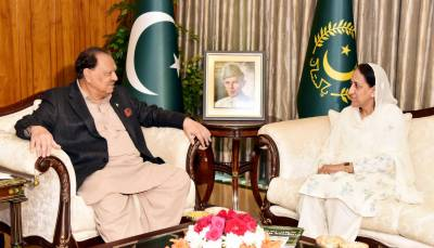 Justice(R) Yasmeen Abbasi meets president