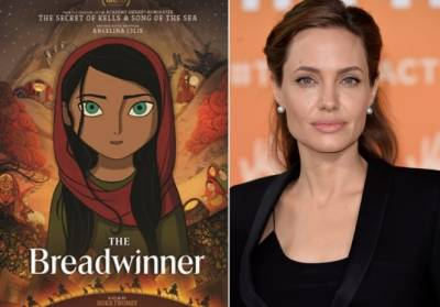 Angelina Jolie animated film on young Afghan girl nominated for Oscar Award