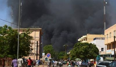 Attack on French embassy, army in Burkina Faso kills eight