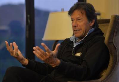 Imran Khan consoles supporters following Senate elections results