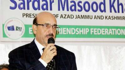 Masood urges Sweden to shine a spotlight on Kashmir issue in UNSC
