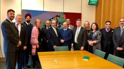 Meeting of All Party Parliamentary Group on Kashmir in British Parliament irks India