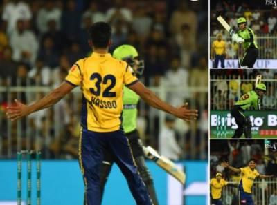 Peshawar Zalmi beat Lahore Qalandars by 10 wickets