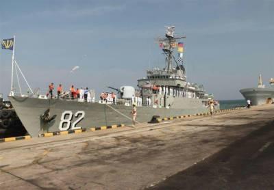 Iranian Navy fleet arrives in Mumbai port to enhance Military ties with India