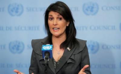 Nikki Haley accuses UN of bullying Israel