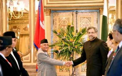 Pakistan - Nepal vow to enhance ties under CPEC, BRI