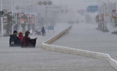 Storms hit various parts of China