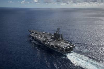 US aircraft carrier Carl Vinson in historic Vietnam visit