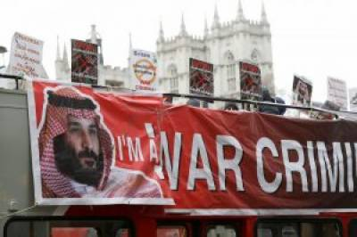 Britain's grand welcome to Saudi Crown Prince to be marred with protests demonstrations