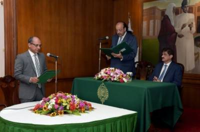 CM Sindh included Saeed Ghani as minister in his cabinet