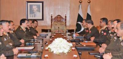 Corps Commanders Conference discusses internal & external security environment