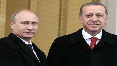 Erdogan, Putin discuss latest developments in Syria