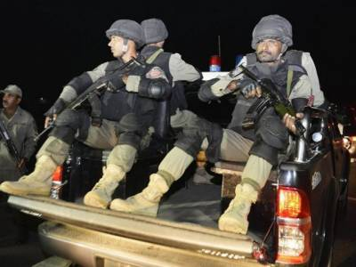 FC Balochistan recovers huge weapons cache