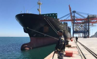 Gwadar Port dream comes to reality with first ever container vessel docking under CPEC