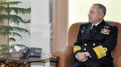 Italian Navy Chief calls on Pakistan Navy Chief
