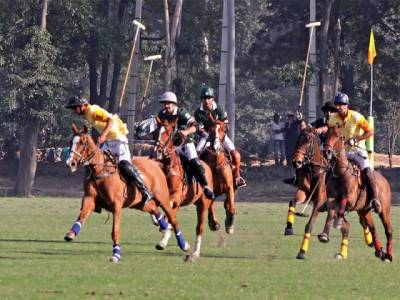 National Open Polo Championship began at Lahore Polo Club in Lahore