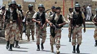 Sindh Rangers arrest four criminals in Karachi