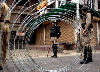 Strict restrictions imposed in Srinagar to prevent Kashmiris March against Indian Army