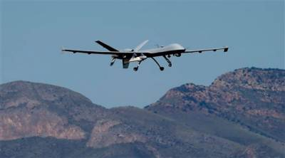 US drone strike near Pak Afghan border kills 20 militants