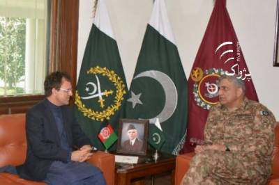 Afghan Ambassador holds important meeting with COAS General Bajwa
