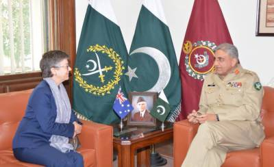 Australian High Commissioner lauds Pakistan Army counter terrorism operations in meeting with COAS