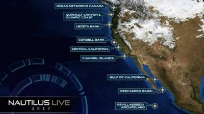 Canada expedition to livecast exploration of Pacific depths