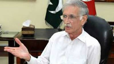 Khattak directs to expedite work on continuing developmental projects