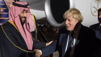 Saudi crown Prince to sign $100 billions deal with Britain