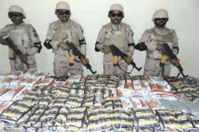 ANF seized 1.217 tons narcotics valuing Rs 1.3 billion