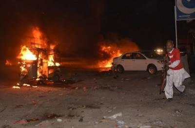 Blast in Balochistan targeting Frontier Corps