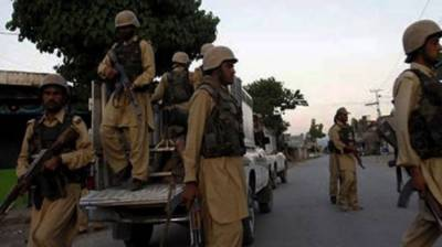 Four militants surrendered before security forces in Hub area of Lasbela district