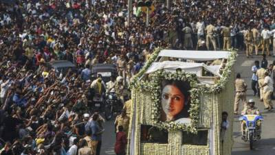 Indian government first response over foul play in Sridevi death