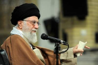 Iran's Khamenei says won't negotiate with West over regional presence