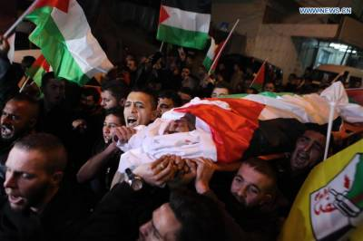 Palestinian man killed in clashes with Israeli soldiers in West Bank: medics